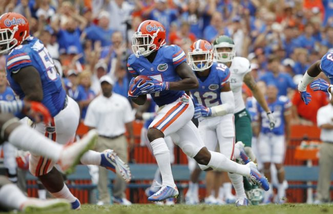 NCAA Football: Eastern Michigan at Florida