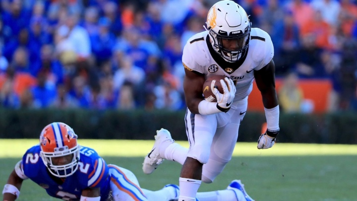 Missouri dominates #11 Florida 38-17.